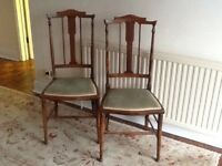 2 Pretty Edwardian? Chairs.