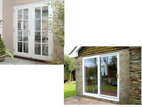 HELLO JUST WONDERING IF ANYONE IS DISPOSING OF ANY COMPLETE UPVC WHITE PATIO DOORS WITH GLASS