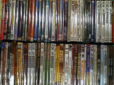 FREE SHIPPING! HUGE BUDGET  Collection Lot of 100 DVDS OLD MOVIES- WESTERN KIDS