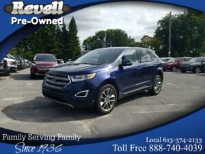 2016 Ford Edge TITANIUM AWD | 1-OWNER | ONLY 36K