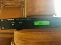 Roland D-110 Multi Timbral Sound Module, Vintage Rack