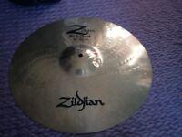 "Zildjian Z custom Rock crash cymbal 18"""