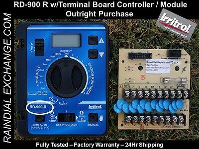 Irritrol Rain Dial RD-900 R, RD900 R w/ board EX Cond. - Fst Shp,Warranty,Tested