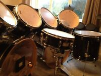 8-Piece Mapex Acoustic Drum Kit