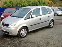 PX TO CLEAR--2004VAUXHALL MERIVA LIFE 1.6L PETROL MPV//MUST GO PRICE