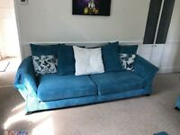 DFS Sofa set (3 seater, 4 seater, storage foot stall)