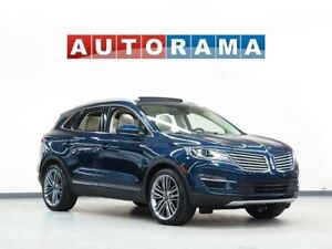 2015 Lincoln MKC NAVIGATION LEATHER SUNROOF 4WD BACKUP CAMERA