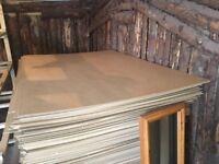 Hardboard sheets 110cm x 156cm