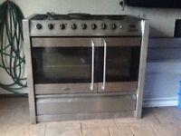 Belling 5 burner gas freestanding range cooker
