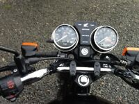 MOTORBIKE - HONDA CB 250cc