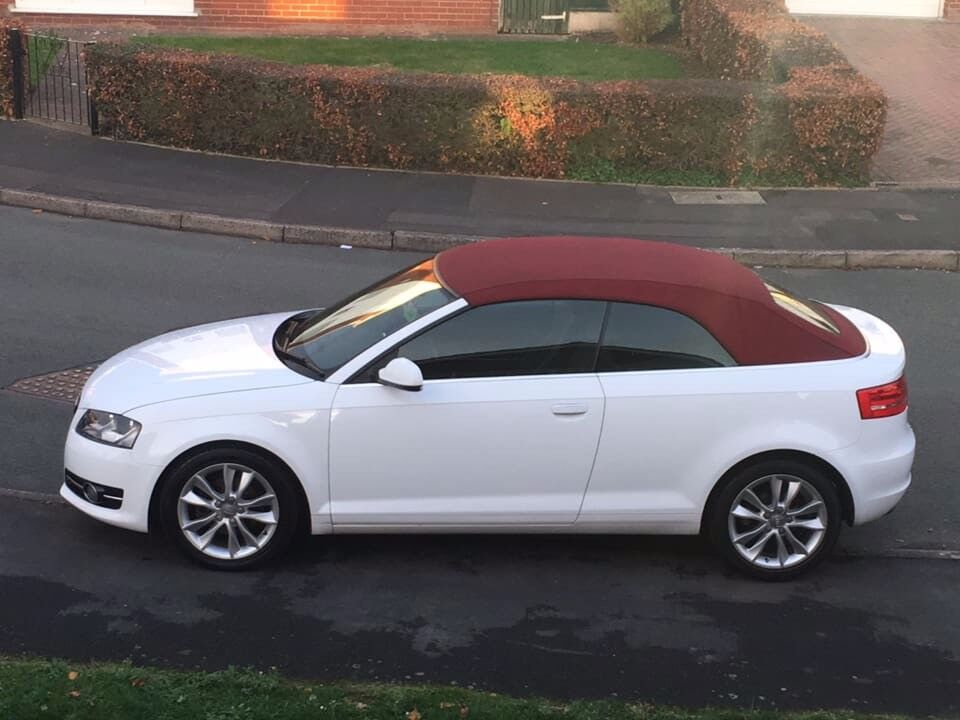 Audi A3 Cabriolet Sport Rare Red Roof Full Service History Mot June 2019