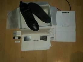 Black Balenciaga High Tops uk 10 euro 44