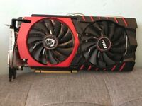 MSI GTX 980 GAMING 4GB GDDR5 256bit High end GPU nvidia graphic card (perfect condition)