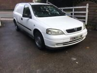 2005 Vauxhall Astra Van 1.7cdti With Rear Seats
