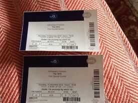 Pair of tickets to The 1975 at the London o2 15th December £50 for both