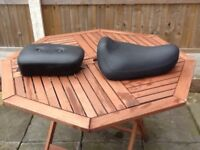 Motorbike front and rear seats new never used