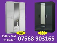 WARDROBE BRAND NEW ROBES WARDROBES CLEARANCE PRICES FAST DELIVERY 95487