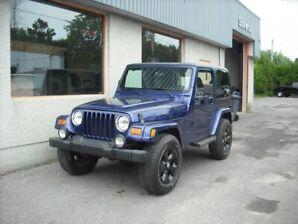 Jeep TJ SE 2 portes, quatre roues motrices 2002