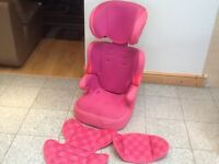 Full highback group 2 3 height adjustable car seat for 15kg upto 36kg(4yrs to 12yrs)washed&cleaned
