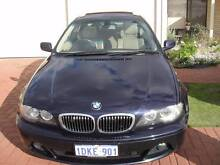 2004 BMW 325Ci E46 Sports Coupe Midnight Blue 5 Speed Auto Steptr Marangaroo Wanneroo Area Preview