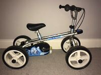 Bike trike & quad 3-in-1