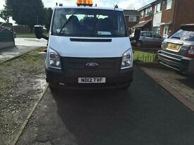 ***Ford transit tipper for sale low Milage***