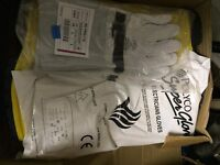 Dielectric safety wellie boots size 8 gauntlets and fire retardant overalls