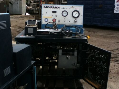 (1)  Used Bacharach CD-3 Diesel injector calibrator Calibration Test Bench Units