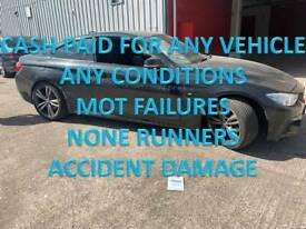 WANTED SCRAP CARS VEHICLE NONE RUNNERS MOT FAILURES TAMWORTH