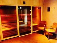 Massage harrow FREE SAUNA/STEAM