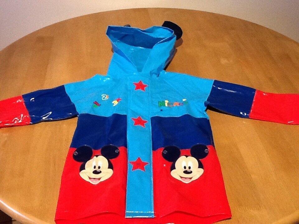 Disney Exclusive Mickey Mouse Rain Coat - £4.00
