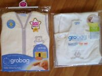 Brand New Grobag - baby sleeping bag 6 - 18 months 1 tog unisex design 2 available
