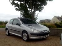03 PEUGEOT 206 1.4 STYLE HDi TURBO DIESEL 3DR H/B