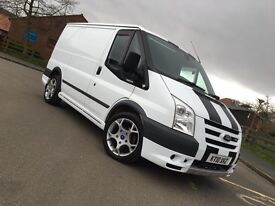 2010 FORD TRANSIT SPORT ST FSH STUNNING 26000 MILES BEST YOU WILL FIND