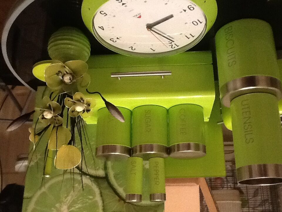 Large Selection Of Lime Green Kitchen Accessories