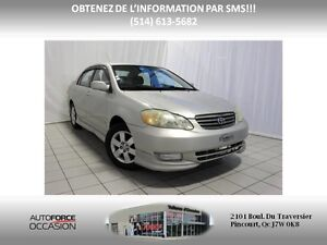 2004 Toyota Corolla TYPE S TOUTE EQUIPE AC MAGS 5 VITT West Island Greater Montréal image 1