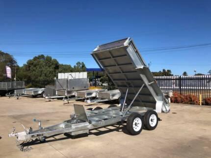 Heavy Duty Electric Galvanised Tipper Trailer 10x5 Morphett Vale Morphett Vale Area Preview