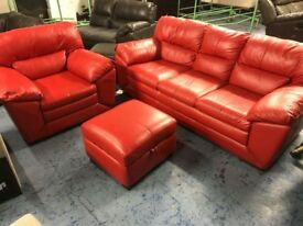 DFS Global suite in enzo red