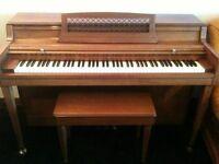 Wurlitzer 1970's US made piano