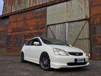 Honda Civic Type R JDM 2001 Import Champ White Ep3