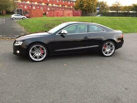 One year warranty. Audi A5 TFSI 2.0 petrol reg 2009 mileage 41,000