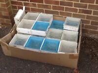 Second hand glass bricks - free to collect