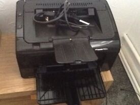 Nearly new printer with new cartridge