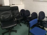 Various Desks and Chairs - BARNSTAPLE