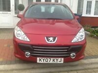 PEUGEOT 307 AUTOMATIC 5 DOOR + FULLY HPI CLEAR REPORT +FULL SERVICE HISTORY +2 KEY +LOG MOT ...