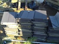 ROOF GREY TILES 70 IN TOTAL FREE TO UPLIFT