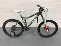 Kona Hei Hei 100 medium frame for sale, full suspension bike