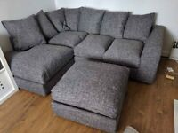 BRAND NEW BARCELONA LELLINE CORNER OR 3+2 SEATER SOFA SET AVAILABLE IN STOCK ORDER NOW