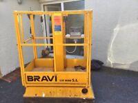 240 volts telescopic/scissor lift