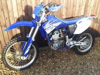 YAMAHA WR400F ON/OFF ROAD MOTORCROSS/ENDURO 51 REG 10 MONTHS M.O.T MAY P/X SWAP